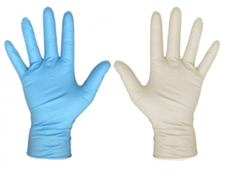 Disposable Powder Free Nitrile Gloves for Hand protection </br> Box of 50