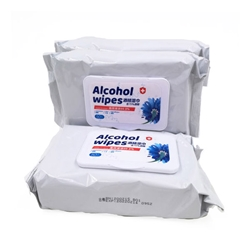Sanitizing Alcohol Wipes Pack of 3 Bags